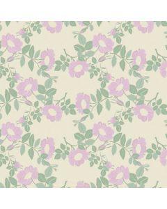 captain-cook-tafelzeil-160cm-groen-paars-wildflowers-papyrus-bloemen-natuur-lente