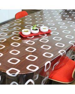 star-retro-wit-tafelzeil-doorzichtig