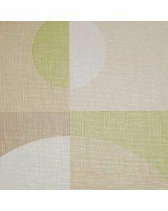 Uninap-groen-grijs-tafelzeil-vormen-figuren